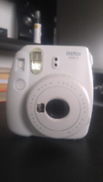 BRAND NEW SMOKY WHITE INSTAX MINI 9 -  1 YEAR WARRANTY INCLUDED