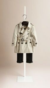 *** Authentic Burberry Trech Coat for stylish 8 year PRINCESS :)