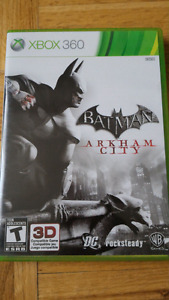 Batman Arkham City -- Xbox 360
