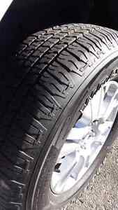 2015 f150 stock lariat rims with tires  Kitchener / Waterloo Kitchener Area image 3