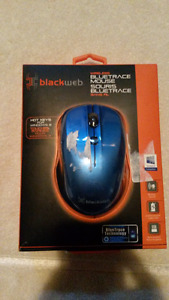 New Blackweb Wireless Mouse, Blue - Wired Color Changeable Mouse