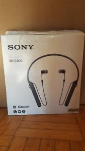 SONY WIC400/B WIRELESS HEADPHONE