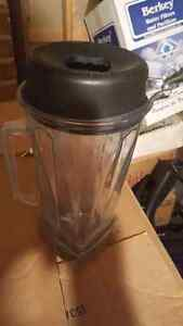 Vitamix container with lid and stick