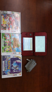 New Nintendo 3DS XL with 3 games
