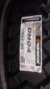 BRAND NEW11R 245 TRACTION HANKOOK TIRES