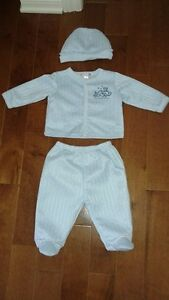 Baby boy 3 piece outfit size 3-6 months