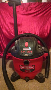 CRAFTSMAN®/MD 60L Wet/Dry Vacuum with Detachable Blower