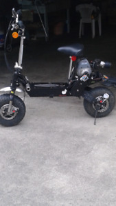 Over size scooter