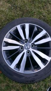 4 mags Honda + pneus comme neuf