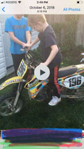 Racing cobra 50cc too fast for my little guy 2000$obopaid2500$