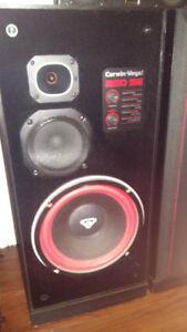 2 Hauts-Parleurs CERWIN-VEGA 250se puissante collonne de sons
