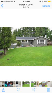 Beautiful home in sunny Tsawwassen in Pebble Hill. 3bed $2000