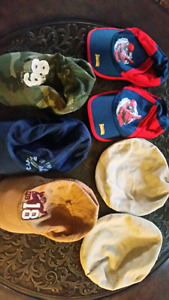 7 boys hats for $7