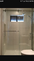Glass, shower door and mirrors need?
