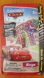 Lion King Dominoes and Cars Bingo Games