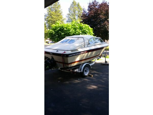 Used 1985 Thunder Craft Boats Sunbird