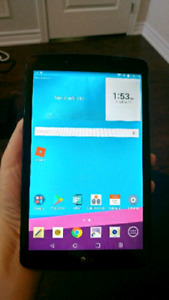 Like new LG G PAD 2 ii 8.0 tablet lte computer