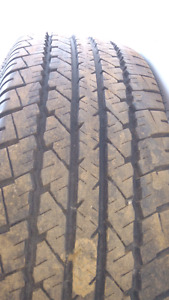 Pair of 2 tires 215/75/15