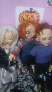 Complete Family of Chucky Dolls