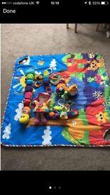 Lamaze toys and mat