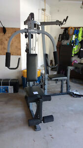 Home gym fitness bench- WEIDER 3200