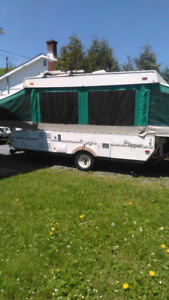 HARD TOP TRAILER FOR RENT AVAILABLE JULY 14 TO JULY 25
