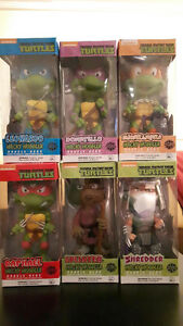 TMNT Wacky Wobblers Set of 6