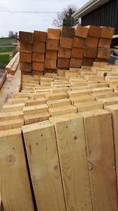"""3"""" x4"""" lumber 49"""" long  pine"""