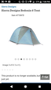 VARIOUS CAMPING TENTS FOR SALE