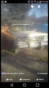 1980 Chevrolet Silverado body and frame only
