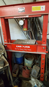 55 ton hydraulic shop press