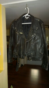 Motorcycle/Biker Jacket - old but in very good condition.