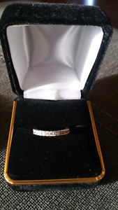14k white gold 1ctw diamond wedding band