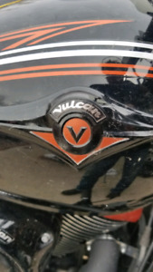 2008 Vulcan custom black