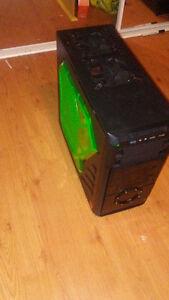 MID ATX TOWER Apevia X-Dreamer 4 Black/Green PC Computer Case