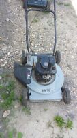 3 push lawn mower  for repair or parts  all motor are  good