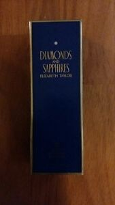 NEW Elizabeth Taylor Diamonds and Sapphires 100 ml - $60 ONLY