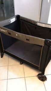 Safety 1st portable playpen and stroller