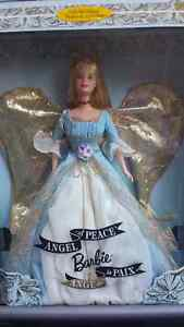 COLLECTIBLE - Angel of Peace Barbie Doll 1999