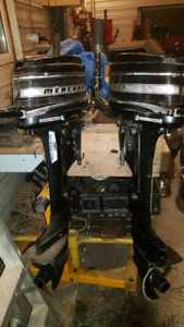 Mercury outboards.