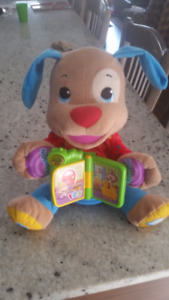 Chien chantant Fisher Price