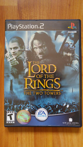 The Lord of the Rings The Two Towers PS2 Game