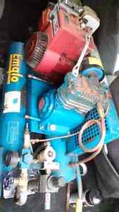 Gas powered air compressor in great shape