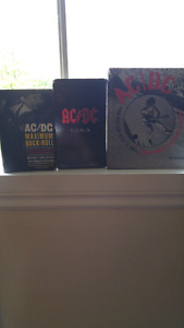 Book sets and AcDc dvd's