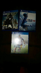 Ps4 and Ps3 games ..40.00 for all