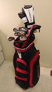 Adams rpm irons& Speedline Woods & Bag 12pc R/H set $420
