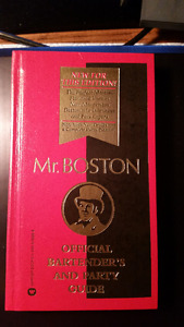 Mr Boston: Official Bartender's & Party Guide Hardcover (Mint)