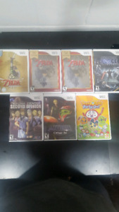 Nintendo wii games sealed