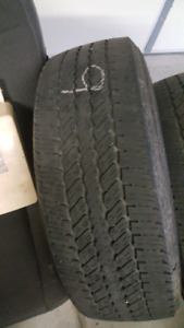 Used tires 275/70R18