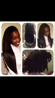 Hair extensions, Hair weaving, Hair Styling -GREAT PRICES/MOBILE